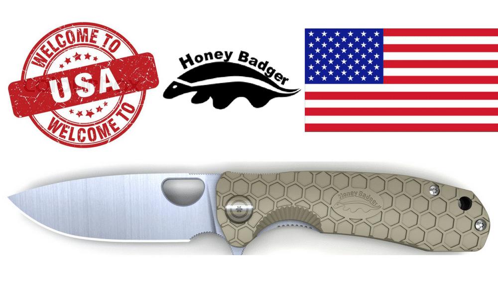 Honey Badger Knife Sizing Chart Western Active Headline
