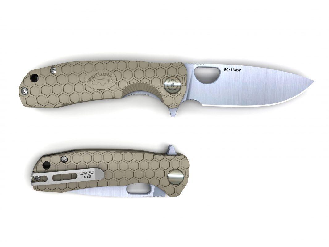 Sharpening the Honey Badger knife
