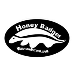 Honey Badger Knives by Western Active Decals