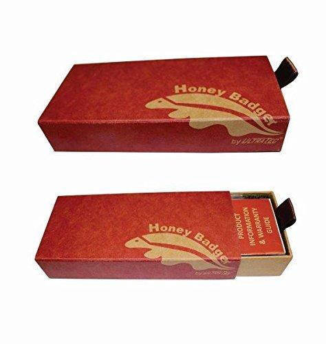HB1115 Honey Badger Claw Smooth Flipper Medium Black D2 Steel
