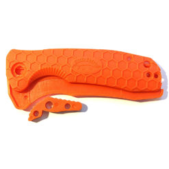 Honey Badger Knives EDC Pocket Knive Orange Western Active